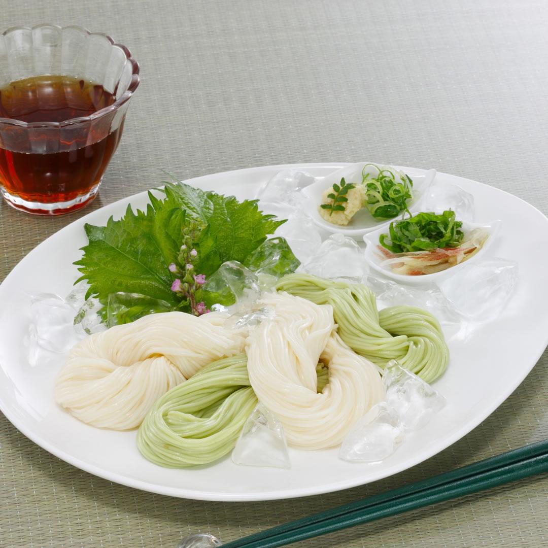 小豆島・手延べオリーブ素麺詰合せ A